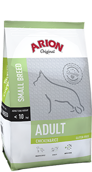 ARION Original Adult Small Breed Chicken & Rice 7,5kg