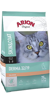 ARION Original Derma 32/19 Salmon 7.5kg