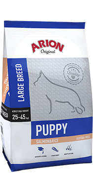 ARION Original Puppy Large Breed Salmon & Rice 3kg
