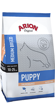 ARION Original Puppy Medium Breed Salmon & Rice 3kg