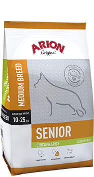 ARION Original Senior Medium Chicken & Rice 12kg