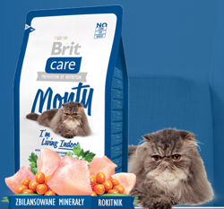Brit Care Cat Monty I´m Living Indoor 2kg
