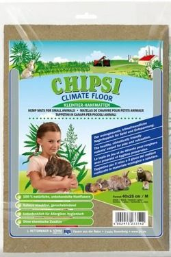 Chipsi Climate Floor (mata konopna) do klatki L