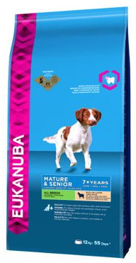EUKANUBA Mature&Senior All Breeds Lamb & Rice 12kg