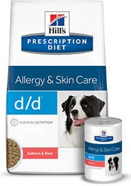 HILL'S PD Prescription Diet Canine d/d Łosoś i Ryż (Salmon and Rice) 5kg + PRZESYŁKA GRATIS!!!