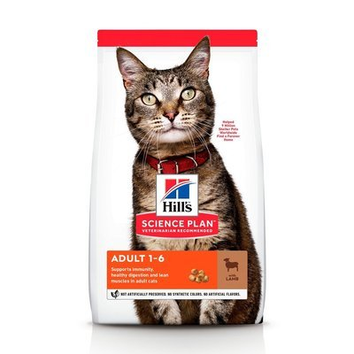 HILL'S SP Science Plan Feline Adult Jagnięcina 10kg