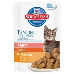 HILL'S SP Science Plan Feline Adult Light Kurczak 85g saszetka