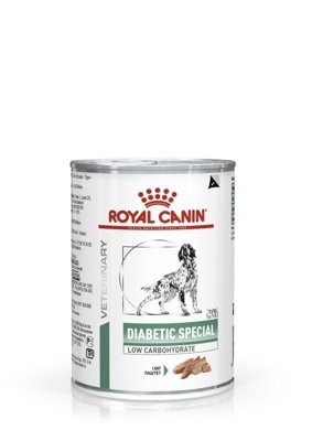 ROYAL CANIN Diabetic Special Low Carbohydrate 410g puszka