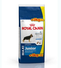 ROYAL CANIN Maxi Junior 15kg + 3kg