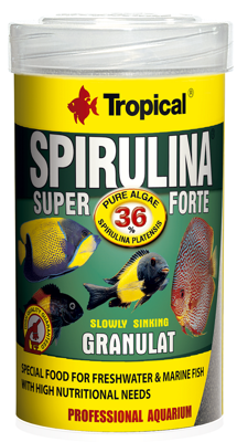 TROPICAL Super Spirulina Forte Granulat 100ml