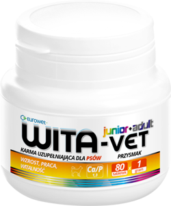 WITA-VET JUNIOR+ADULT Ca/P 1,3 1g 80tab