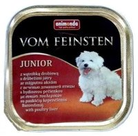 ANIMONDA Dog Vom Feinsten Junior smak: wątróbka drobiowa 150g
