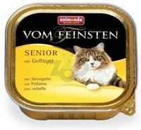 ANIMONDA Vom Feinsten Senior Cat smak: z drobiem 30 x 100g