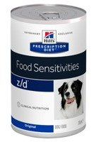 HILL'S PD Prescription Diet Canine z/d Food Sensitivities 12x370g - puszka