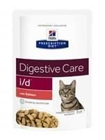 HILL'S PD Prescription Diet Feline i/d z łososiem 6 x 85g - saszetka