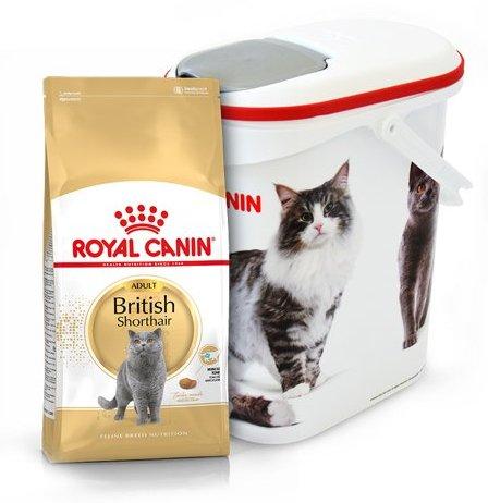 royal canin british shorthair adult 34 4kg pojemnik na karm curver 10l 4kg sklep. Black Bedroom Furniture Sets. Home Design Ideas