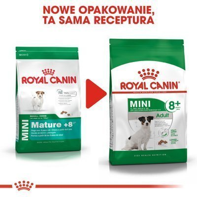 ROYAL CANIN Mini Adult +8 - 800g