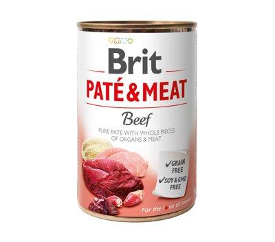 BRIT PATE & MEAT MIX SMAKÓW 30x400g