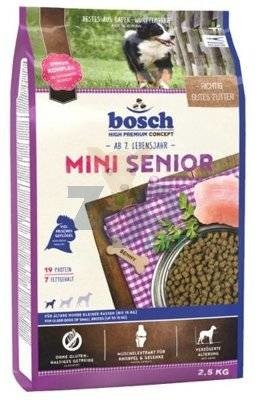 Bosch Mini Senior (nowa receptura)  2,5kg