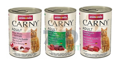 ANIMONDA Cat Carny Adult Mix smaków I 12 x 400g