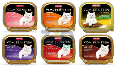 ANIMONDA Vom Feinsten Adult Cat MIX Smaków 30 x 100g