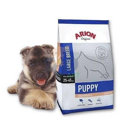 ARION Original Puppy Large Breed Salmon & Rice 12kg