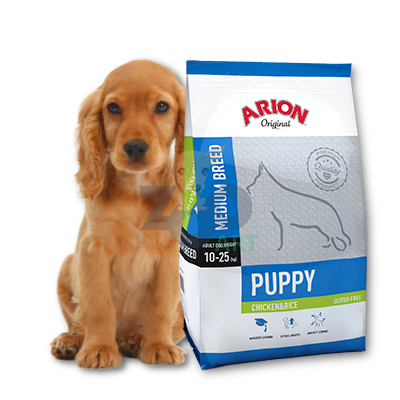 ARION Original Puppy Medium Breed Chicken & Rice 12kg