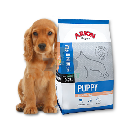 ARION Original Puppy Medium Breed Salmon & Rice 12kg
