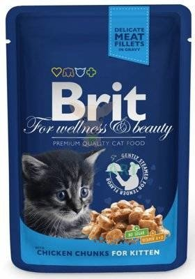 BRIT Cat Kitten Kurczak 100g