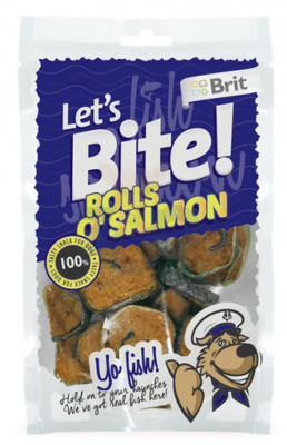 BRIT Let's Bite Rolls o'Salmon 400 g