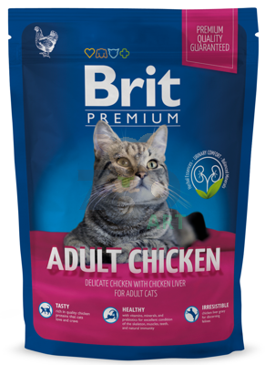 BRIT Premium Adult Cat Chicken 1,5kg