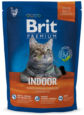 BRIT Premium Indoor Cat 1,5kg