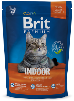 BRIT Premium Indoor Cat 300g