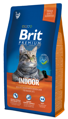BRIT Premium Indoor Cat 8kg
