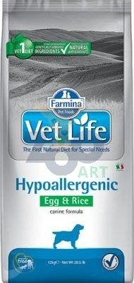 FARMINA Vet Life Dog Hypoallergenic Egg & Rice 12kg