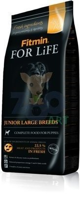 FITMIN For Life Junior Large Breeds 15kg + 5x Kabanosy