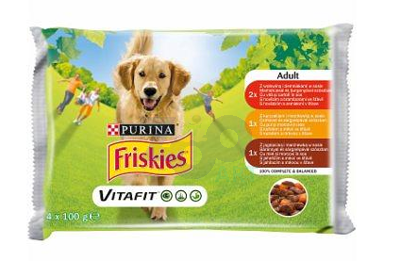 FRISKIES Vitafit, mix smaków 40x100g SUPER CENA !!