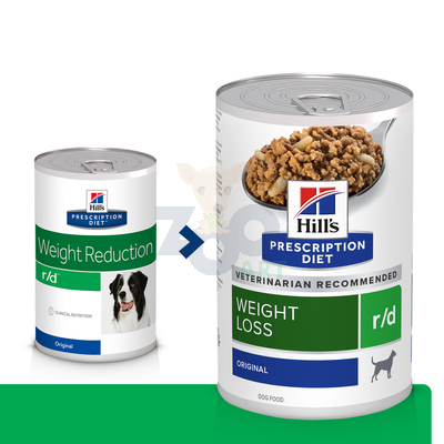 HILL'S PD Prescription Diet Canine r/d 350g - puszka