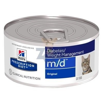 HILL'S PD Prescription Diet Feline m/d 6 x 156g - puszka