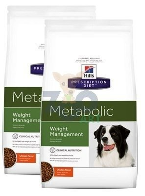 HILL'S PD Prescription Diet Metabolic Canine 2x12kg