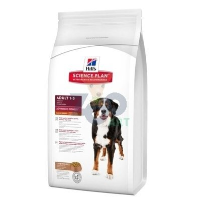 HILL'S SP Science Plan Canine Adult Advanced Fitness Large Breed Jagnięcina i Ryż 12kg