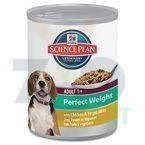 HILL'S SP Science Plan  Canine Adult Perfect Weight 363g - puszka