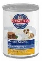 HILL'S SP Science Plan Canine Mature Adult 7+ Kurczak 6 x 370g - puszka