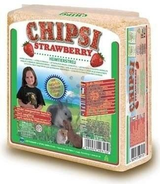 JRS Chipsi Strawberry 15l/1kg
