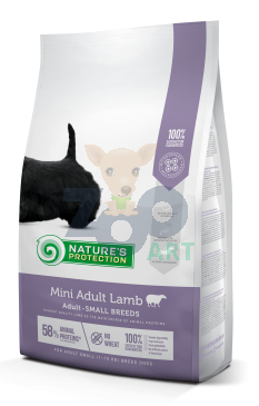 NATURES PROTECTION Mini Adult Lamb 7,5kg