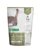 Nature's Protection Cat Weight Control z kurczakiem i łososiem 100g