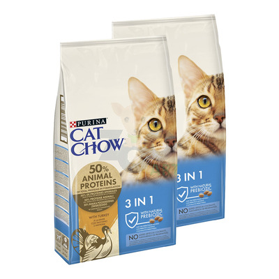PURINA Cat Chow Special Care 3w1 - 2x15kg