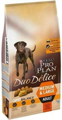 PURINA Pro Plan Adult Duo Delice Beef & Rice 15kg (6x2,5kg)
