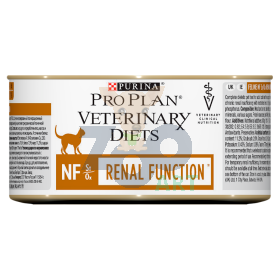 PURINA Veterinary PVD NF Renal Function Cat 12 x 195g puszka