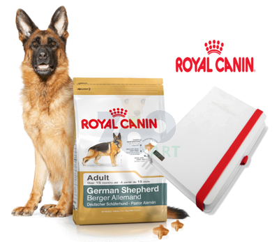 ROYAL CANIN German Shepherd Adult 12kg + NOTES Royal Canin